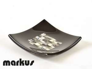 Glass plate Frari square small size