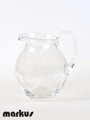 Murano Jug in clear glass