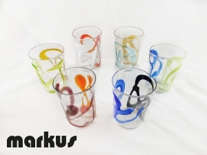 set of 6 glasses varigola