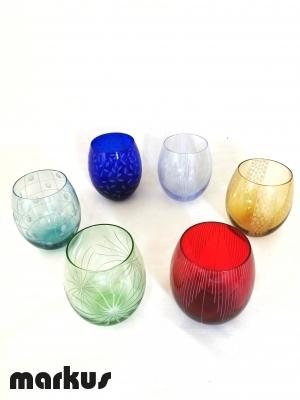 Set 6 glasses fen TG