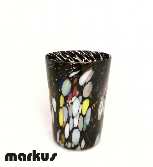 Traditional Glass By Diego Vio - Black