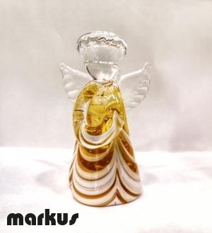 Fenicio Angel Lampwork Amber color