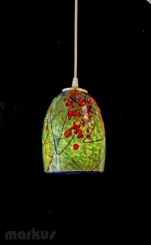 DARK GREEN - KANDINSKY GLASS SHADE SMALL SIZE