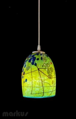 Glass shade Kandinsky