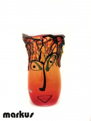 Picasso's Vase - Red High