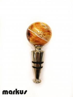 Glass stopper Amber Color
