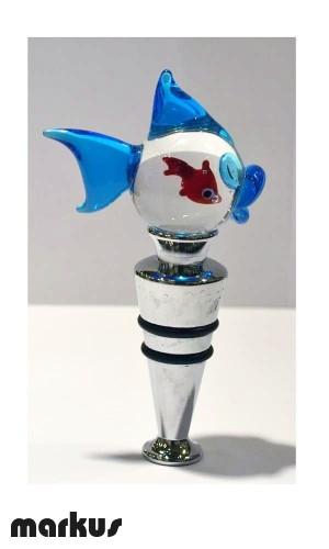 Glass bottle stopper