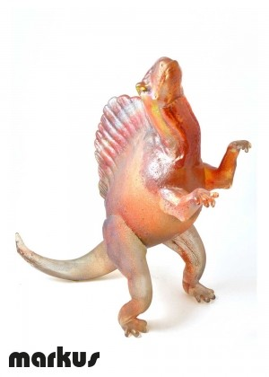 Glass dinosaur