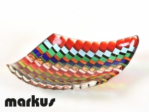 Rainbow plate small size