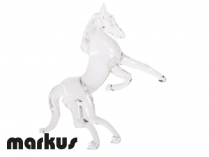 GLASS HORSE CRYSTAL COLOR